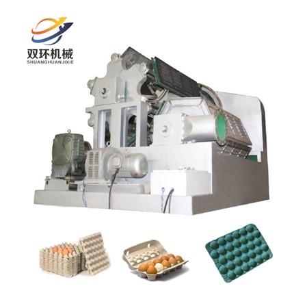 大产量对辊式环保蛋托生产线多层烘干线8000片每小时