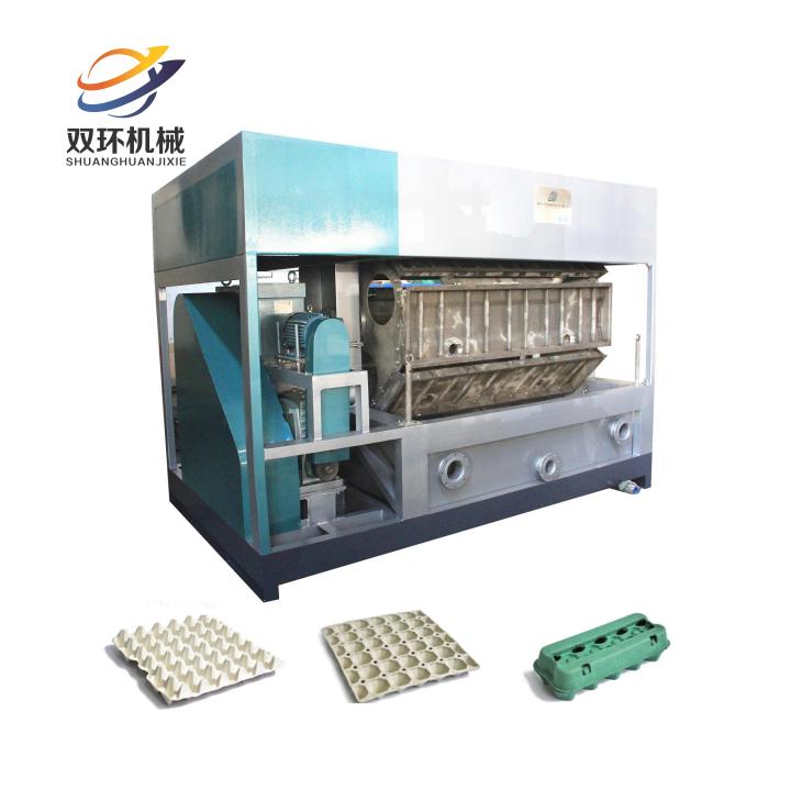 全自动高效低成本生产蛋托机3000片每小时